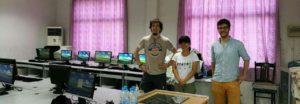 De mi-mai à début aout 2017 nous étions à Shanghai afin de réaliser un premier projet pilote. Objectif: réduire l'exclusion numérique en réemployant des ordinateurs d'entreprise au sein d'une école de migrant.