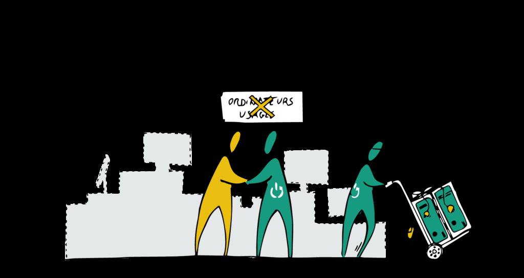 WeeeFund vous offre une action sociale et environnementale clé en main: donnez une seconde vie à vos ordinateurs.