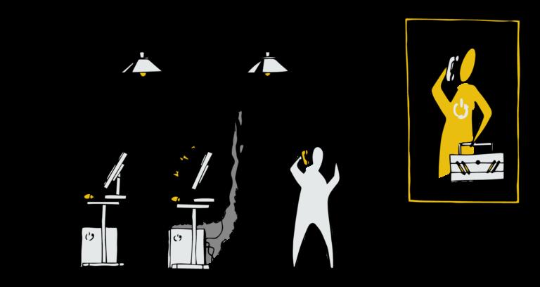 5ème étape: WeeeFund assure la maintenance pendant toute la durée de la seconde vie de vos ordinateurs: 3 ans. Le Maintient en condition opérationnel est assuré par une intervention a distance ou sur site si besoin.