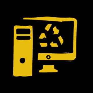 ÉTAPE 2: LE RECONDITIONNEMENT Le reconditionnement est effectué dans une installation agréée pour le traitement de DEEE. Les postes sont nettoyés, les données sont supprimées de manière sécurisée, et de nouveaux systèmes d'exploitation sont installés (Linux ou Windows, selon les besoins de la structure).