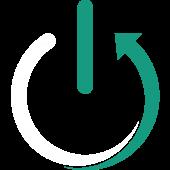 logo blanc vert carré